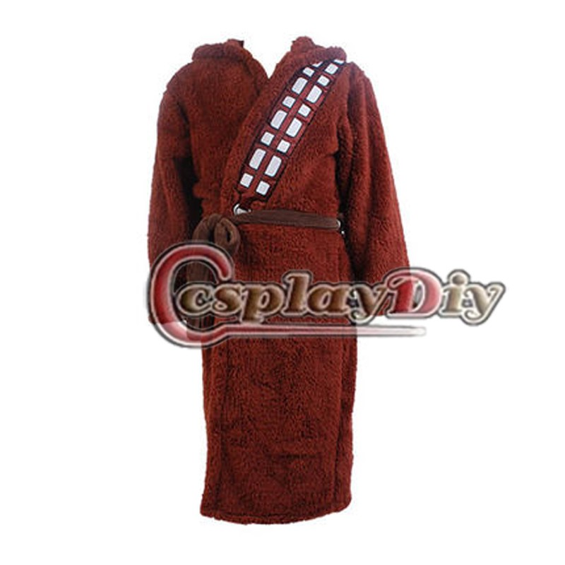 Cosplaydiy Movie Star Wars I Am Chewie Chewbacca Robe Pijama Pijama Onesie Bornoz Yetişkin Erkekler Cosplay Kostüm Custom Made