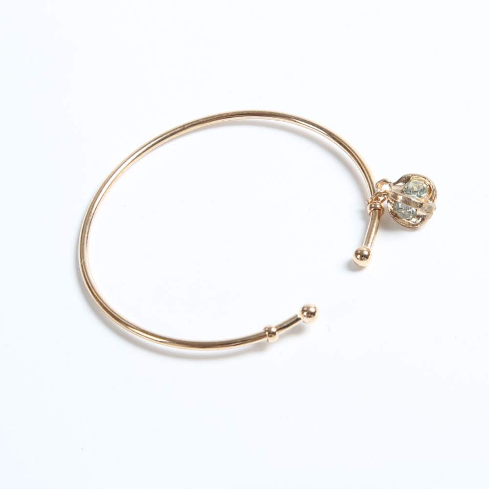 Fashion Women Bracelets Bangles Crystal Bangles Chunky Statement Charm Jewelry BL-0329